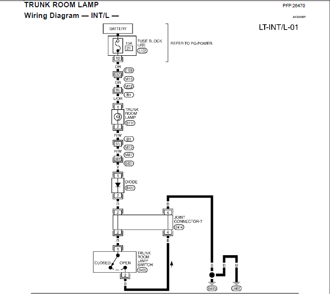 Infiniti G35 Battery Location. Infiniti. Auto Wiring Diagram
