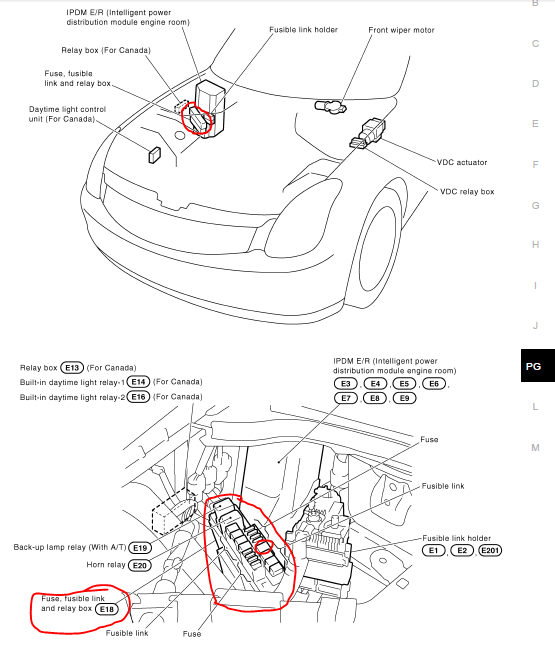 350z fuse diagram 2003