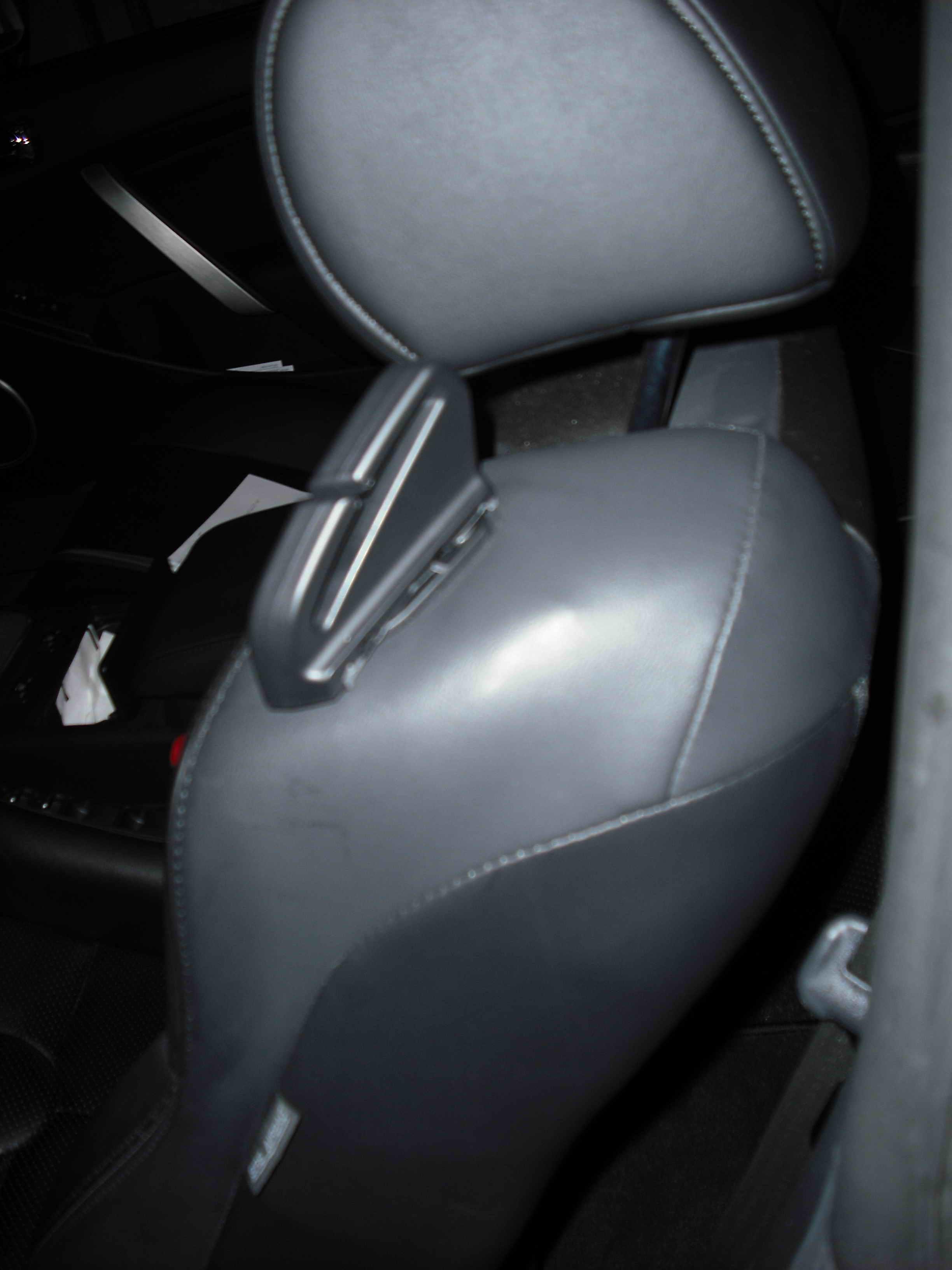 Drivers Side Seat Belt Retainer  G35Driver  Infiniti