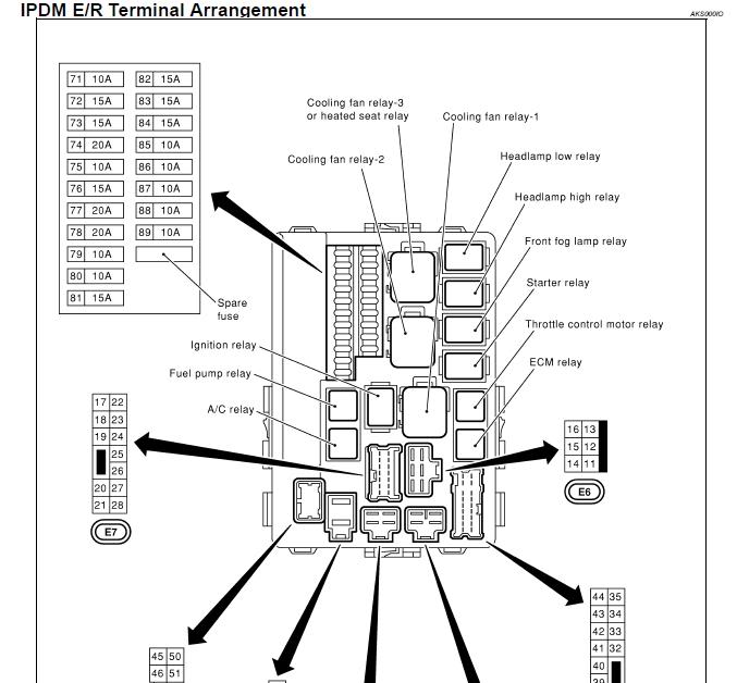 2003 Kia Optima Fuse Diagram