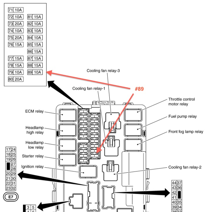 Infiniti Fuse Box Location : 26 Wiring Diagram Images