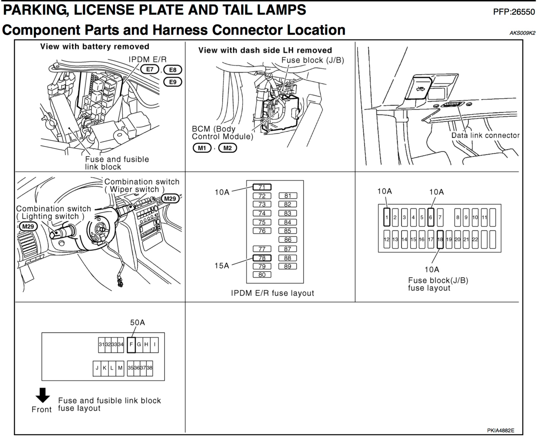 hight resolution of dimmer switch including taillights when headlights go on not infiniti g35 fuse box diagram