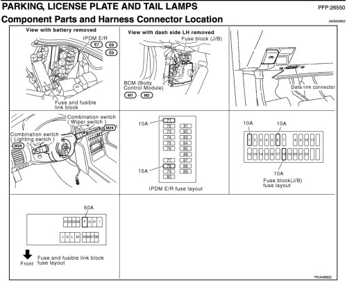 small resolution of dimmer switch including taillights when headlights go on not infiniti g35 fuse box diagram