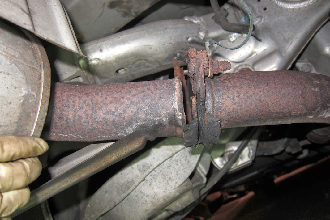 Exhaust: Exhaust Pipe Repair