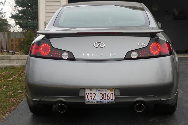 Tail Lights Painted. Lenses - G35driver