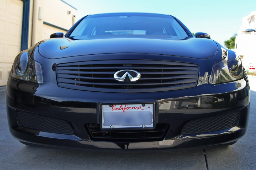 medium resolution of blacked out grille headlights and taillights