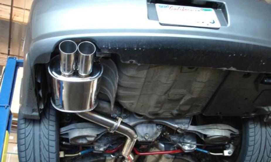 G35 Exhaust