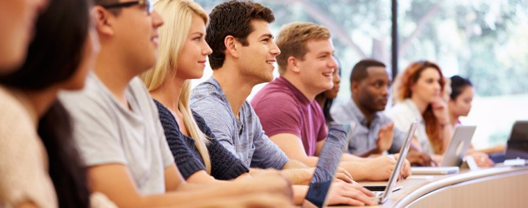 Photo of University Students learning hydrogeology