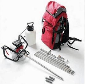 portable drill rig product splash