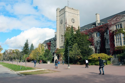 Photo of University of Guelph historic Campus