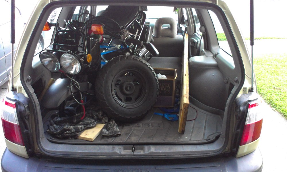 medium resolution of does a ruckus fit in the back of a 2002 subaru forester