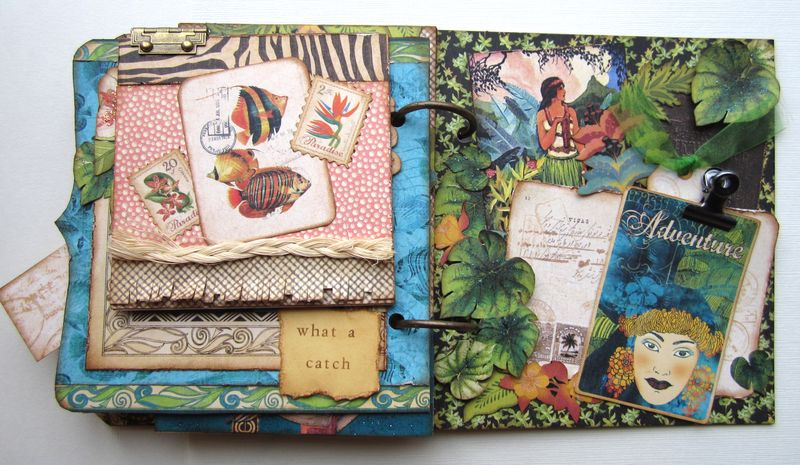 Three Ideas For Pretty Mini Albums By Maria Cole Graphic 45