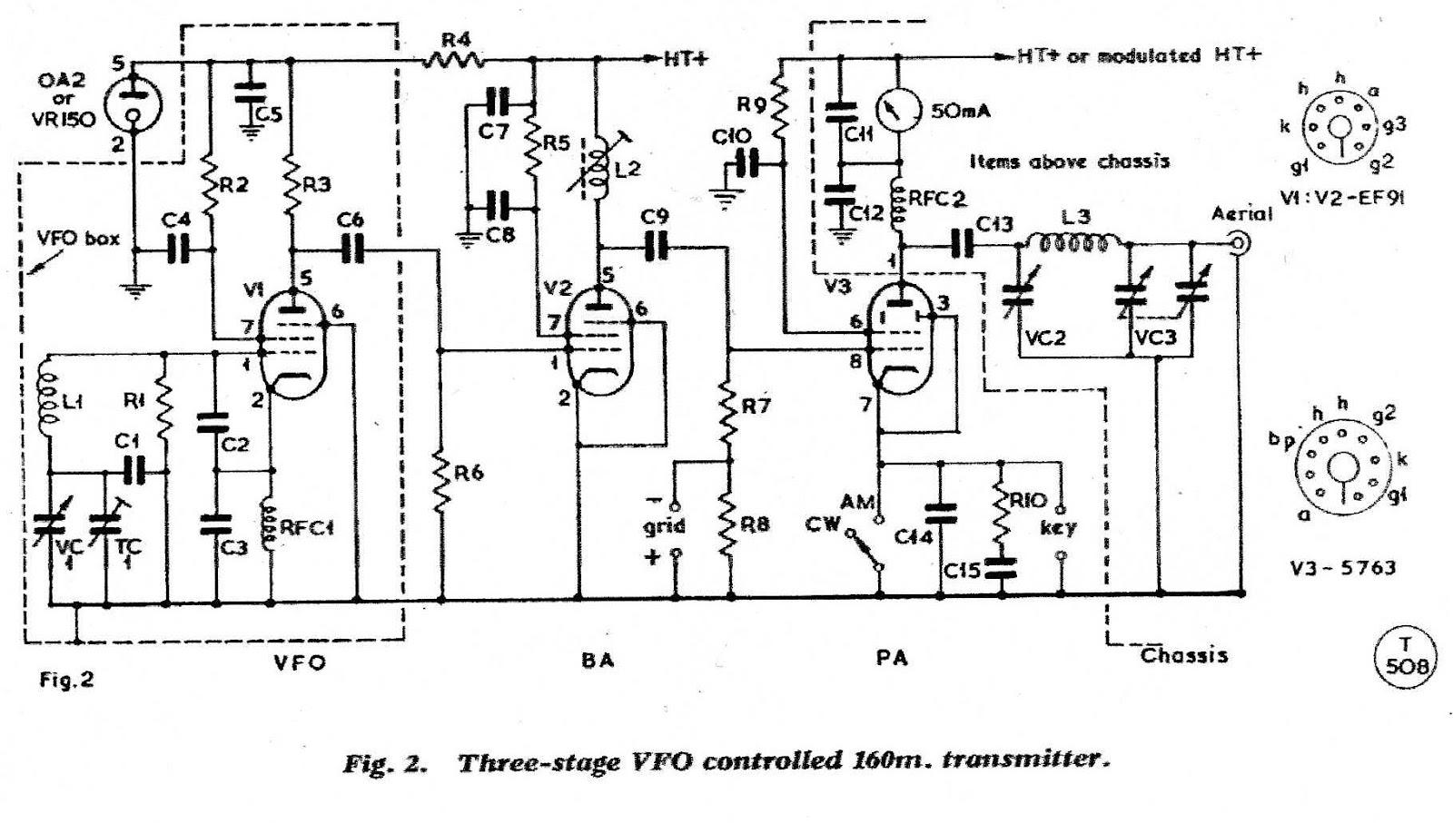 Topband Transmitter F G Rayer G4aqb