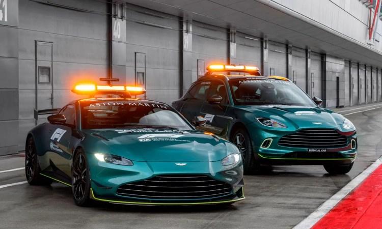 Aston Martin Vantage e DBX