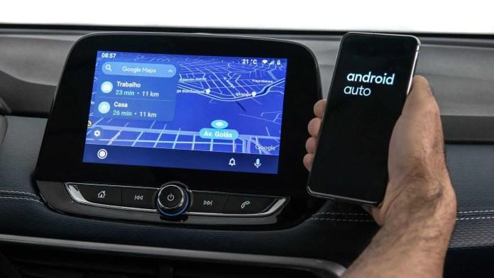 Chevrolet Tracker com conexão multimidia sem fio