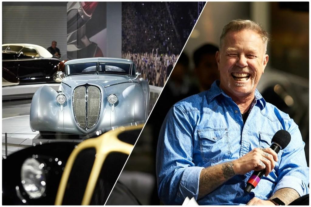 James Hetfield doa carros e ganha exposição