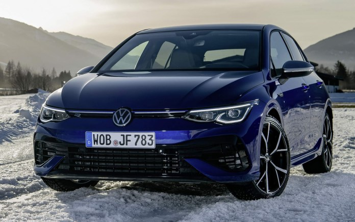 VW Golf R 2022