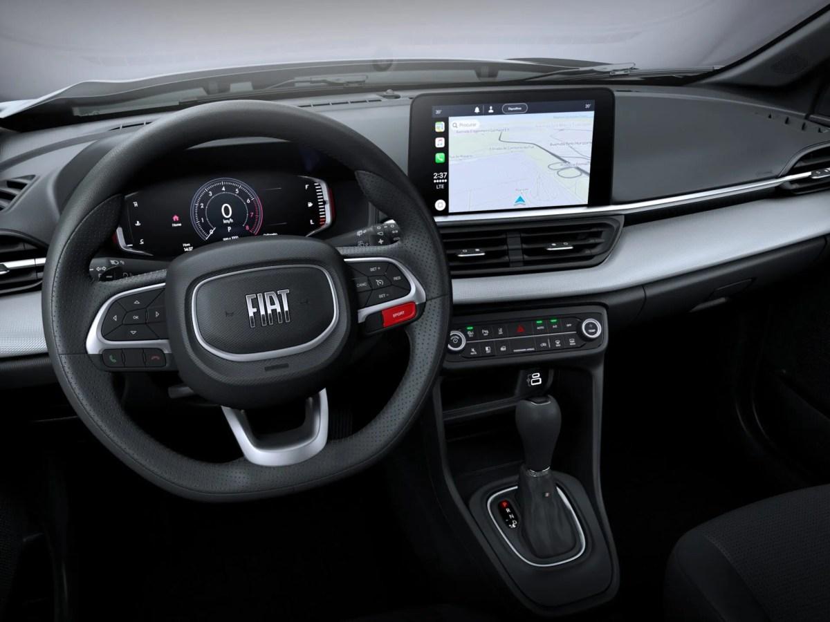 Fiat Pulse tem interior revelado pela Stellantis