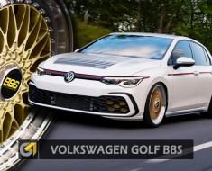 volkswagen GOLF BBS