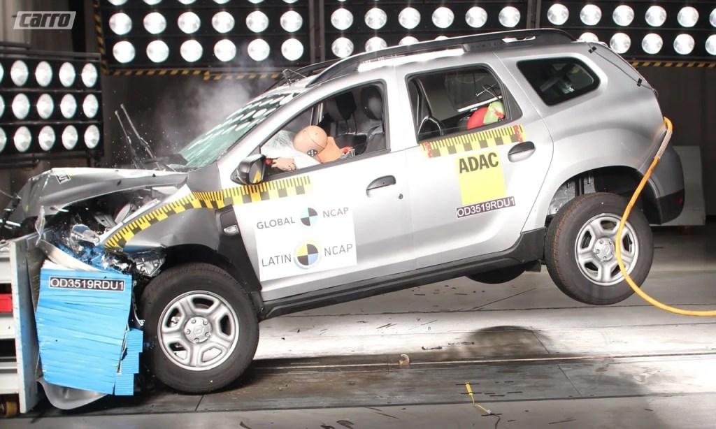 Renault Duster tira nota zero no LatinNCAP