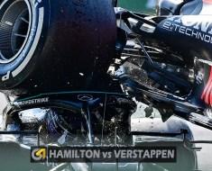 Verstappen e Hamilton batem no GP da Itália