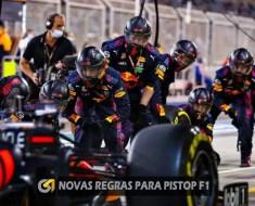 Novas regras para pitstop de F1