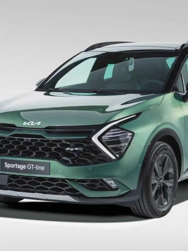 Kia Sportage GT-Line 2022 – Versão para Europa é menor que a Global