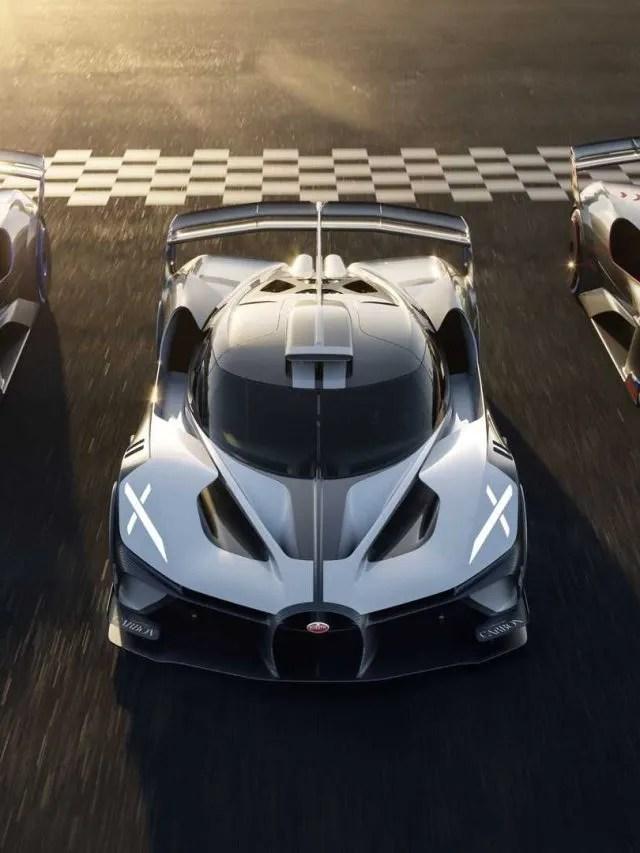 Bugatti Bolide – Devirado do Chiron e exclusivo para as pistas