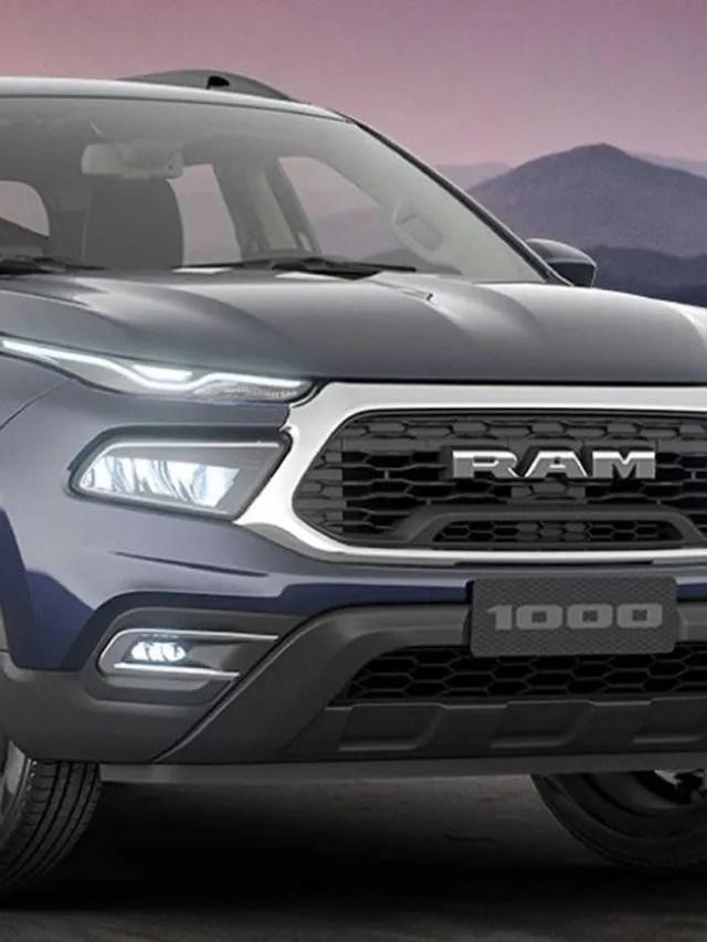 Ram 1000 2022, a picape gêmea da Fiat Toro