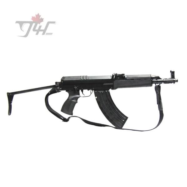 """CSA VZ58 Sporter 7.62x39mm Folding Stock 11.8"""" BRL Black"""