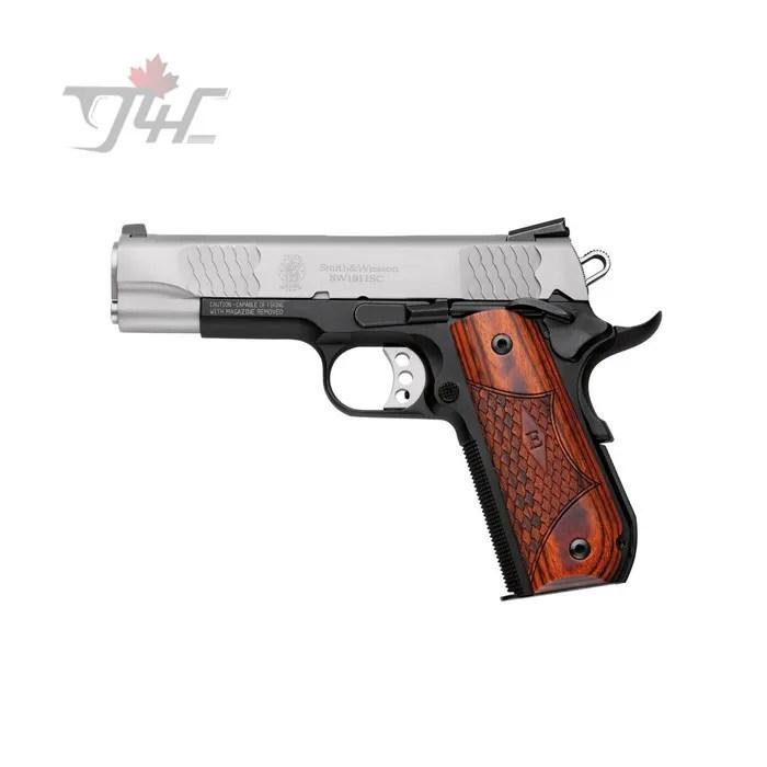 Smith & Wesson 1911SC E-Series  45ACP 4 25