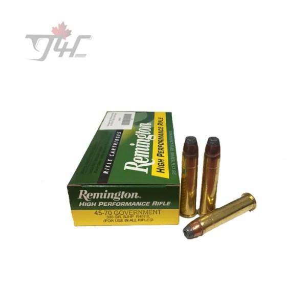 Remington High Performance Rifle 45-70GOVT