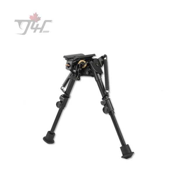 Harris Series S Bench Rest Pivot Bipod 6'' - 9'' w/ Swivel Stud Mount