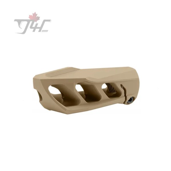 Cadex Defence MX1 Muzzle Brake (1-14 threads) for .50BMG Tan
