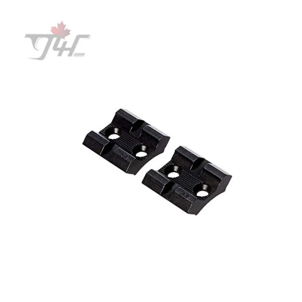 Weaver 48470 Top Mount Base Pair for Browning Bar Matte Black