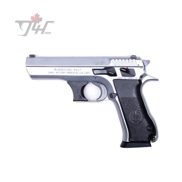 "IWI Jericho 941F Surplus 9mm 4.4"" BRL Chrome"