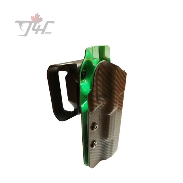 Uncle Mike's Range/Competition Holster for Glock 17/22/34/35 Right Hand Black/Green