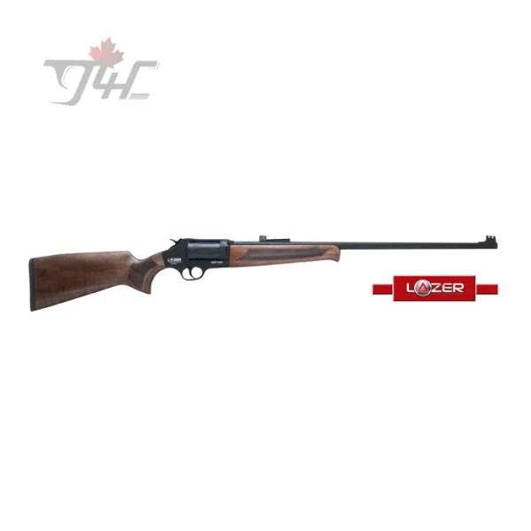 """Lazer Arms XR410 Revolver Action 410Gauge 28"""" BRL Black/Wood"""