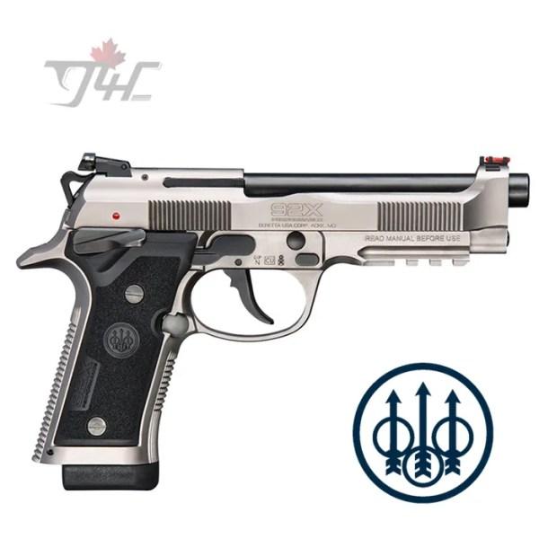 """Beretta 92X Performance 9mm 4.9"""" BRL STS"""