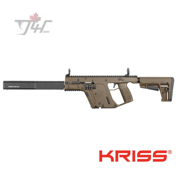 "Kriss Vector Gen2 CRB 9mm 18.6"" BRL FDE"