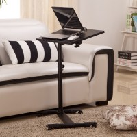 Adjustable Portable Table Desk Stand Sofa Bed Tray For ...