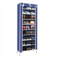 Dust proof 10 Tier Shoes Cabinet Storage Organizer Shoe