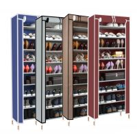 Dust proof 10 Tier Shoes Cabinet Storage Organizer Shoe ...