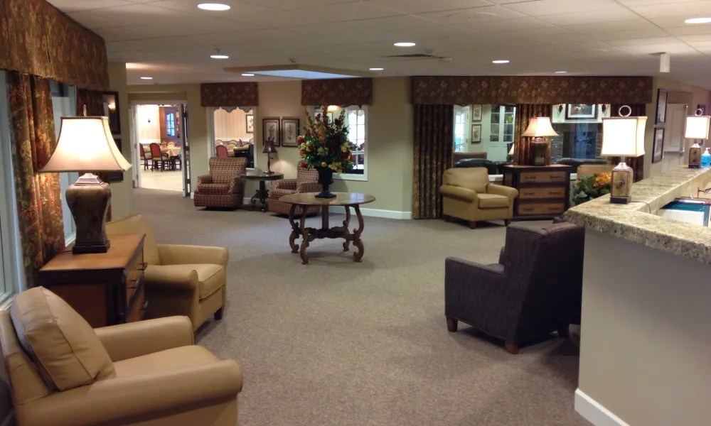 living room center bloomington in mattress for photos of autumn hills alzheimer s special care commons
