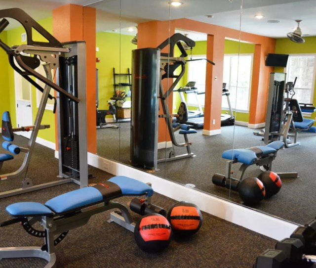 Fitness Center At The Abbey At Eagles Landing In Stockbridge