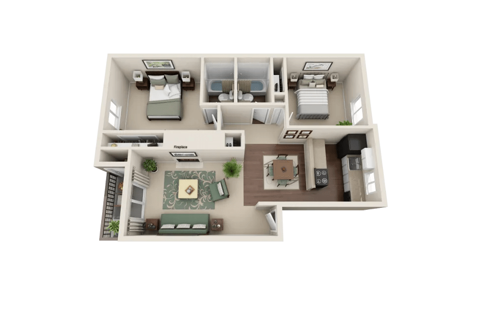 1 & 2 Bedroom Apartments for Rent in Everett, WA