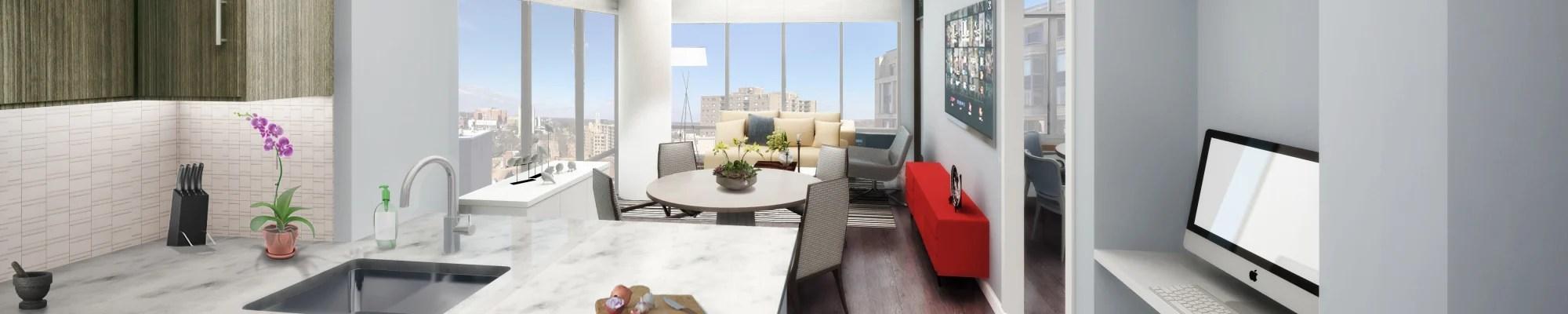 Luxury Studio, 1 & 2 Bedroom Apartments for Rent in