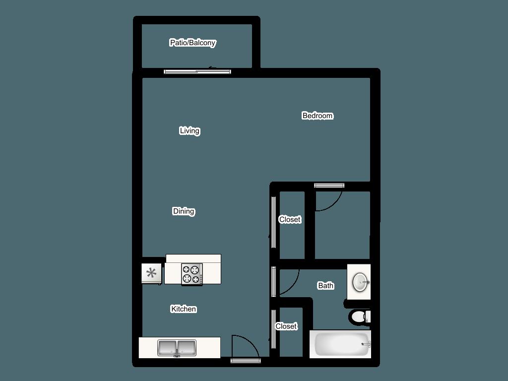 A Diagram Of 900 Square Feet Floor Plan Attractive Home Design