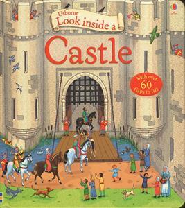 Homeschool Kindergarten Curriculum - Usborne Look Inside a Castle