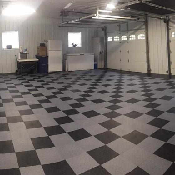 garage flooring tiles mats rolls